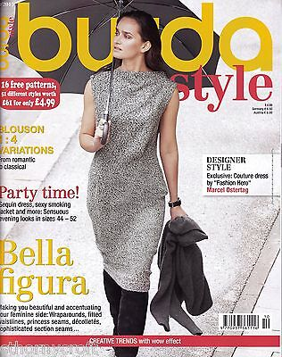 """Burda Style Mag 10/2015 """"Exclusive Couture Dress"""" Party Time -16 Uncut Patterns"""