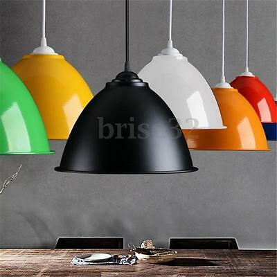 Industrial Style Aluminum Ceiling Light Pendant Chandelier Shades Home Lights