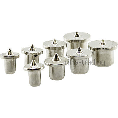 Dowel Centre Point Set, Dowelling Points, Joinery, Tool, Pin, Drill,6 8 10 12 mm