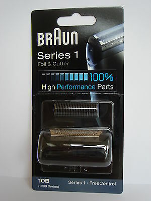 BrAun  SERIES  1  Foil & Cutter 10B 1000 Series Free Control sealed new 100%