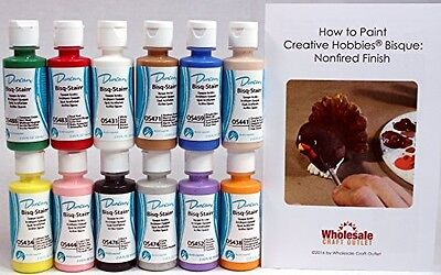 Creative Hobbies Duncan OSKIT-1 Acrylic Paint Set, 12 Best Selling Colors in 2