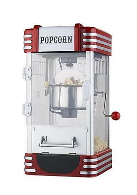 Electric Retro Kettle Popcorn Maker Cinema Style Home Make Hot Poppers Machine