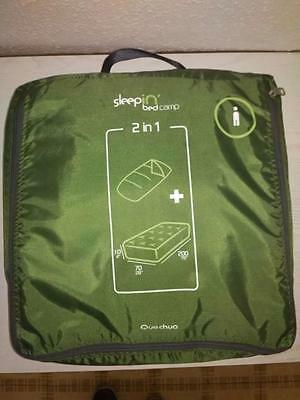 Matelas gonflable quechua sleepin´bed camp 2 en 1