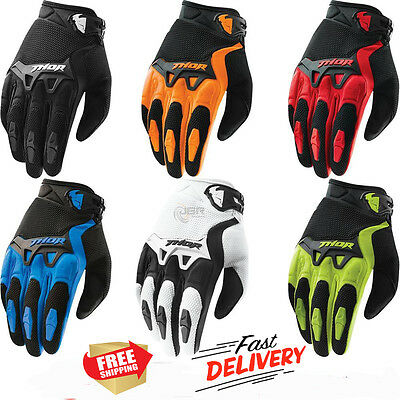 Thor Spectrum S15 Racing Gloves Motor Cycling,Offroad,Motocross MX ATV MTB XC DH