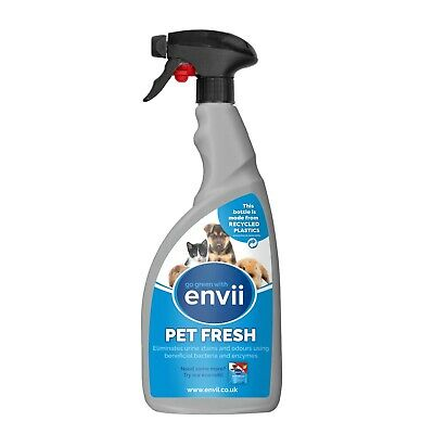 Envii Pet Fresh - Pet Odour and Urine Eliminator, Remover and Cleaner - 750ml