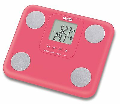 Tanita Fat Mass Pink Weighing Scales Innerscan Body Composition Monitor  BC730/P
