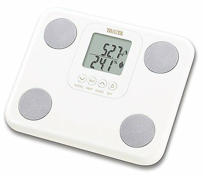 Tanita BC-730 Fat Mass White Weighing Scales Innerscan Body Composition Monitor