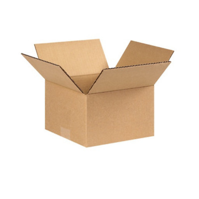 Cardboard Postage Boxes Single Wall Postal Mailing Business Cards Box 6 x 4 x 3""