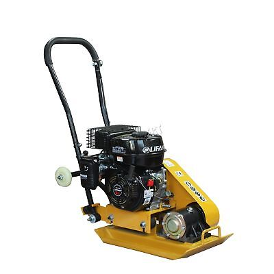 Petrol Compactor Tamper Plate Heavy Duty Engine HS-60 Cast Activator with Wheels