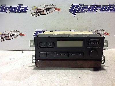 Toyota Camry A/c Heater Climate Control Unit 55900-33300 Denso 146430-5693