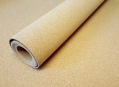 CORK SHEET - 2 ROLLS - 1 Meter x 300 mm - 3 mm THICK  BUY 2 PACKS GET ONE FREE