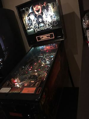 Pinball Flipper Lord Of The Rings Stern