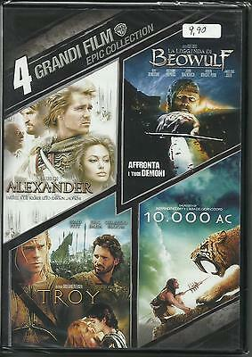 Dvd Cofanetto 4 Grandi Film Epic Collection In Italiano