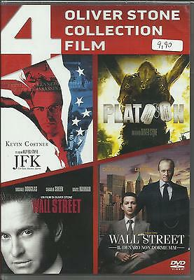 Dvd Cofanetto 4 Grandi Film Oliver Stone Collection In Italiano