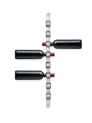 Blomus Cioso Stainless Steel Wall Mounted Wine Rack for 8 Bottles