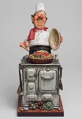 "GUILLERMO FORCHINO Comic Art Figur ""Chefkoch-Master Chef"" Professionals FO85524"