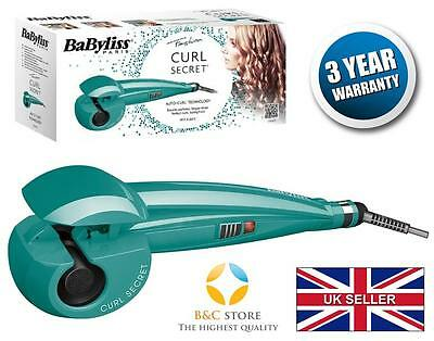 NEW Babyliss CURL SECRET C905PE CERAMIC HAIR STYLER CURLER AUTO aqua fashion top