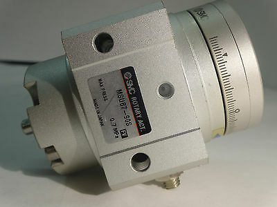 SMC MSUB7-90S  Rotary Actuator With Table