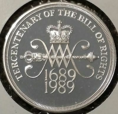 ND(1989) Great Britain Silver Proof Commemorative Coin - 2 Pound denomination
