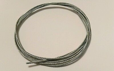 Galvanised Wire for English Dial and  long case clocks 1.50 Dia 1.52 Length