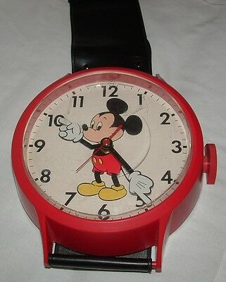 Vintage Mickey Mouse (Welby by Elgin) Wrist Watch Wall Clock