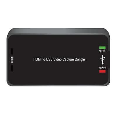 HD External Capture Card Recording System - Record Full HD 1080p Video HDMI USB