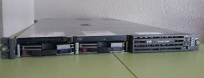 Servidor Rack 1U HP Proliant DL360 G4 -Intel Xeon 3,6Ghz -6Gb RAM- 2x300Gb disco
