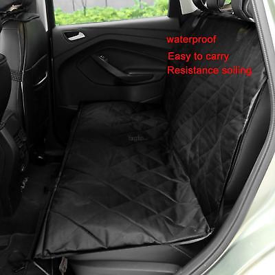 Pet Car Back Seat Covers Waterproof Protector Hammock Blanket Rear for Dogs Cats