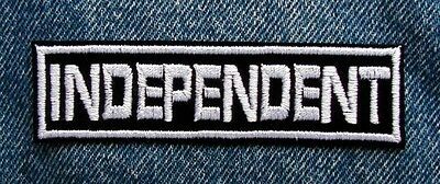 INDEPENDENT Biker Motorcycle 1 X 4 Patch by Dixiefarmer W/W