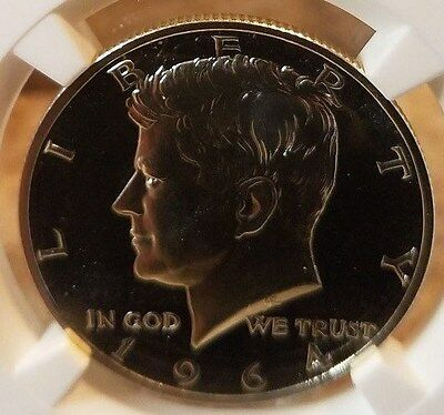 1964 Accented Hair Proof Kennedy, NGC Certified PF 67, 90% Silver