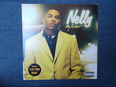 """Nelly My Place / Flap Your Wings 12"""" Universal Records 2004 MCST 40379"""