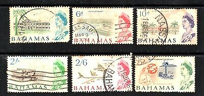 stamps BAHAMAS A21(6) SET LOT