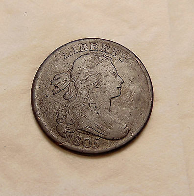 1805 Large Cent - Early Date - Very Nice Looking Coin