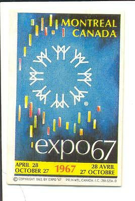 Bengphil Canada 1967 Montreal Quebec Expo 67  advertising  stamp