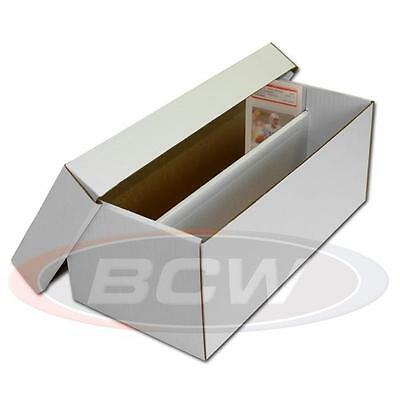 New BCW Graded Shoebox Card Cardboard Storage Box for Graded Cards