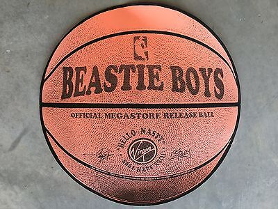 BEASTIE BOYS Hello Nasty BASKETBALL POSTER Screen Print Limited Edition!!!