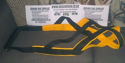 weight pull harness for various dogs listing for staffy/apbt size