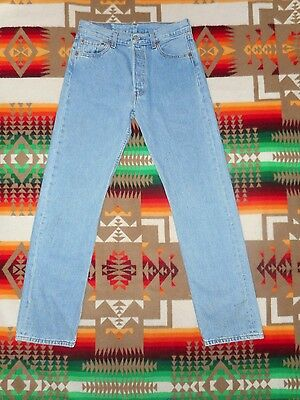 vtg Levis 501 Button Fly Jeans 30 x 32