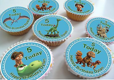24 The Good Dinosaur Birthday Personlised Cake Toppers