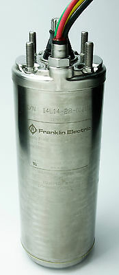 Franklin 2145059004S Deep Well Submersible Pump Motor 1/2HP 230V 5A 3450RPM NEW