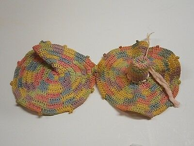 Vintage Thimble Holder Crochet Hat
