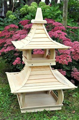 Exclusive Wooden Bird Table House In Japanese Tample Style XxXL SIZE!!!