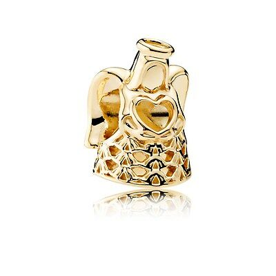 New Authentic Pandora Angel of Grace, 14K Gold Charm 750999 W/ Box