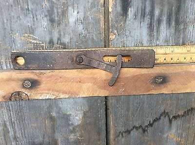 Antique Barn Door Lock / Latch Salvaged From Early 1800's Barn