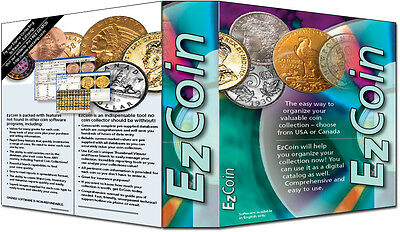 EzCoin CANADA 20175 Coin Inventory Software, Images, Values for All Coins, Sets