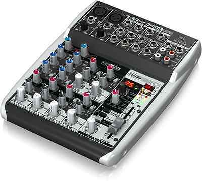 Behringer XENYX 1002USB 10Input Mixer with Effects NEW IN BOX