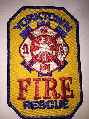 Yorktown Fire Rescue Patch New York State USA