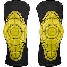 G-Form Knee Pads in Black, Yellow