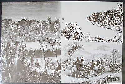 1983 Australian Explorers - Set of 4 Maxi Cards