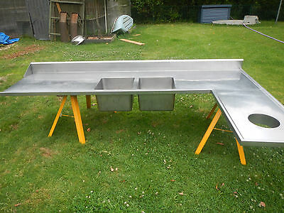 Stainless steel commercial benchtop. Make an offer. Must sell before xmas